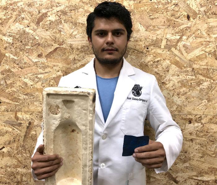 Científico mexicano crea tres materiales biológicos innovadores