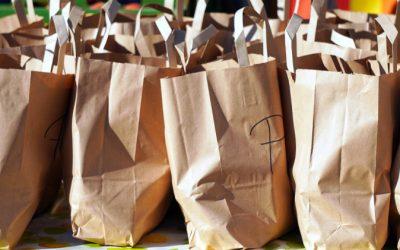 Bolsas de papel y de tela también pueden ser muy contaminantes