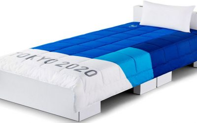 Japón prepara camas de cartón para Tokio 2020